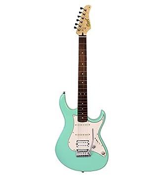 Cort serie G - 260 DX - Sea Foam Green - Guitarra eléctrica: Amazon.es: Instrumentos musicales