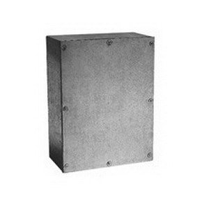 Cooper B-Line 18186-SCG Gasketed Junction Box 18 Inch Width x 6 Inch Depth x 18 Inch Height Screw-On Cover 14 Gauge G-90 Grade Galvanized Steel NEMA 3 12 (Cooper Junction Box)