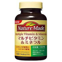 大塚製薬  ネイチャーメイド マルチビタミン&ミネラル 200粒×3個入 B071R94KLN