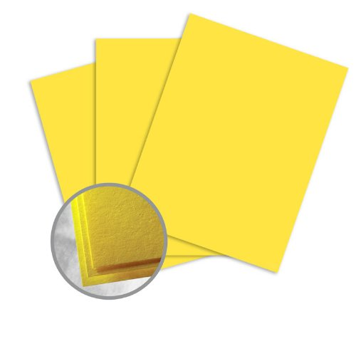 Astrobrights Solar Yellow Paper - 11 x 17 in 60 lb Text Smooth 500 per Ream