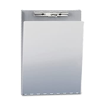Amazon.com : Saunders Recycled Aluminum Clipboard with Privacy ...