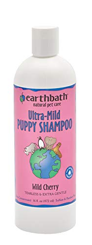 Earthbath Ultra-Mild Puppy Shampoo, Wild Cherry 16 oz