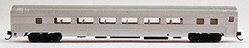 Price comparison product image Bachmann Industries Streamline Fluted Coach with Lighted Interior - Unlettered Aluminum (N Scale),  85'