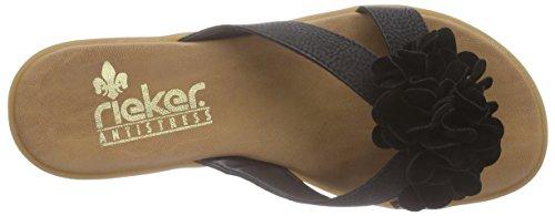Rieker 63491 - Protectores de dedos Mujer Negro (Schwarz / 01)