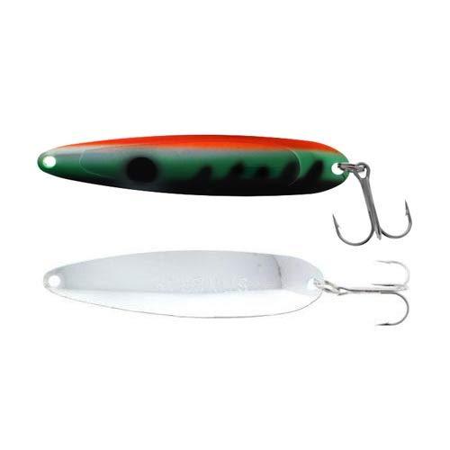 Michigan Stinger Spoon Standard UV Perch Silver 3-3/4