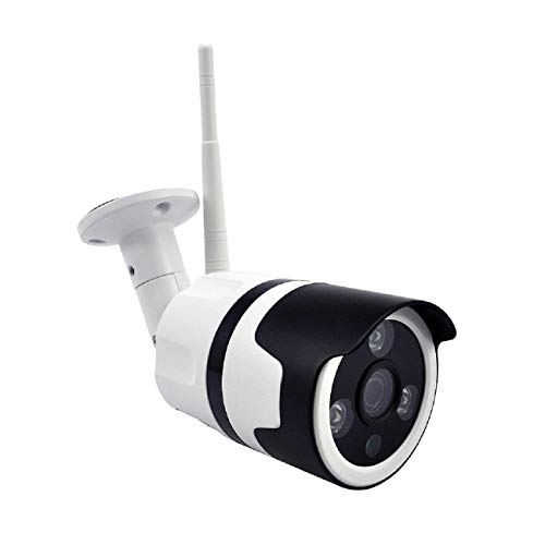 Cinhent Security Camera - Waterproof Wireless HD720P WiFi Camera Outdoor Security Bullet IR Night Vision - Indoor Home Security Camera System with Motion Detection