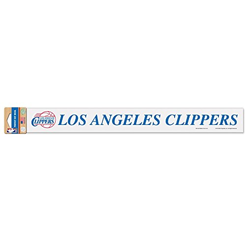 WinCraft Los Angeles Clippers Official NBA 2 inch x 17 inch Die Cut Car Decal 318374 ()