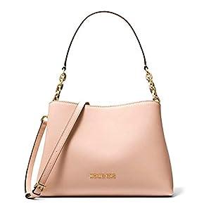 Michael Kors Sofia Large Leather Satchel Bag
