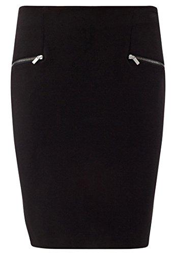 Jupe droite Promod Promod Jupe Femme Noir xvESUwW