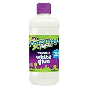 Cra-Z-Art CRA-Z-Slimy 16 oz Washable White Glue 16oz