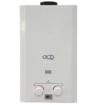 Calentador a Gas GLP (Butano/propano) ACB 10 Litros