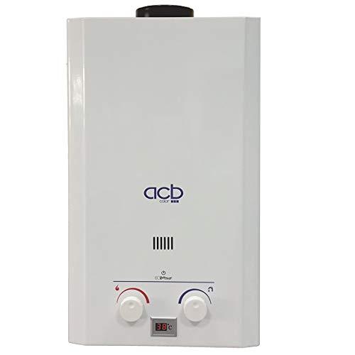 Calentador a Gas NATURAL ACB de 10 litros ACBEUROPE CA180P