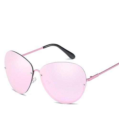 Amazon.com: Gafas de sol de media montura de Europa y los ...