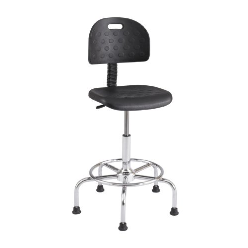 Safco Products WorkFit Economy Industrial Chair Additional options sold separately , Black