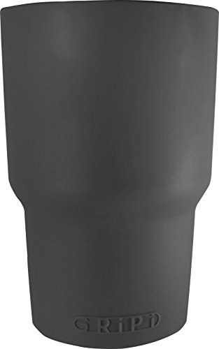 GRiPi Sleeve for YETI Cooler Tumbler (Great White Gray) Silicone Grip for 20 oz. or 30 oz. Drinks | Colorful, Personalized Insulated Cup Cover