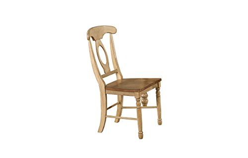 Winners Only, Inc. Quails Run 20 in. Napoleon Side Chair - Set of 2 - Set of 2 Almonds and Wheat Finish Minimal assembly required - kitchen-dining-room-furniture, kitchen-dining-room, kitchen-dining-room-chairs - 31AqFci4dYL -