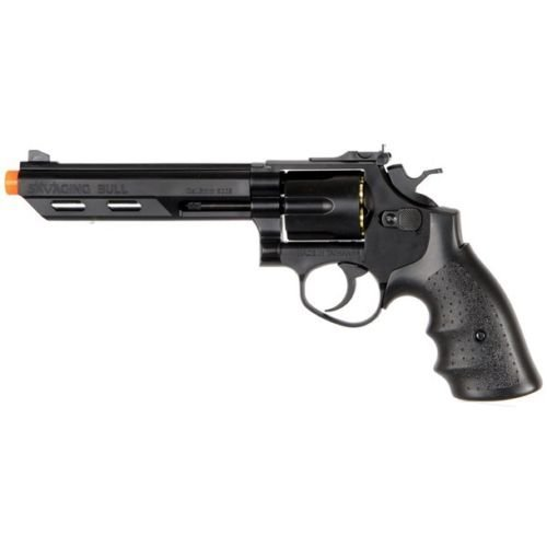 350 FPS HFC 357 MAGNUM GREEN GAS METAL AIRSOFT REVOLVER PISTOL GUN BB BBs Shells (Hfc Green)