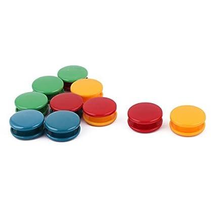 Amazon.com: eDealMax hogar pizarra etiqueta ornamento Nevera botón ...