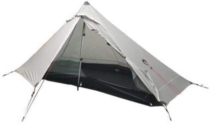 LAOJI Carpa Exterior 2 Personas Carpa Camping Ultraligera Carpa 3 Estaciones sin Polos