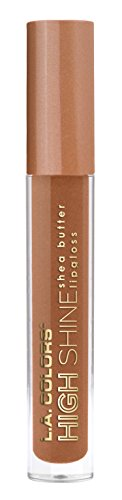 L.A. Colors High Shine Shea Butter Lip Gloss, Snuggle, 0.14