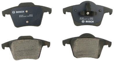 Bosch BP980 QuietCast Premium Semi-Metallic Disc Brake Pad Set For 2003-2014 Volvo XC90; Rear