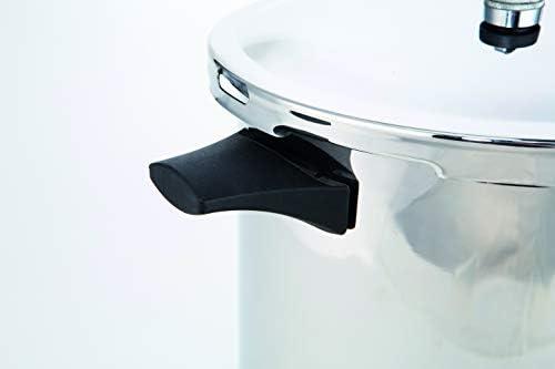 Prestige Autocuiseur en acier inoxydable–plaque à induction Compatible avec base–6,8kilogram PSI, Argent, Silver, 5 l