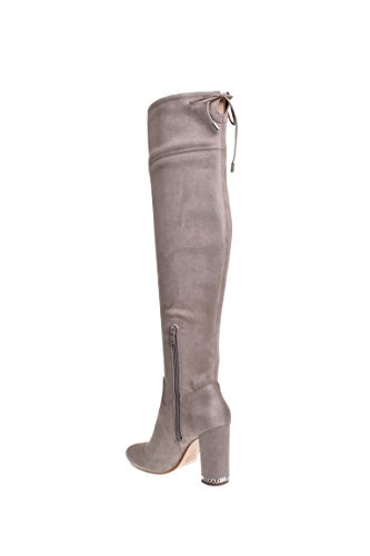 696f8370074 Michael Kors Jamie OTK High Heel Stretch Suede Boot - Dark Dune ...