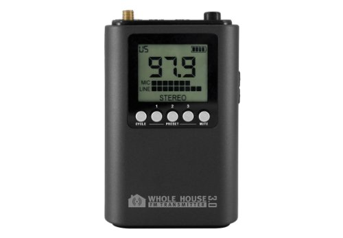 Fm Home Transmitter - Whole House FM Transmitter 3.0