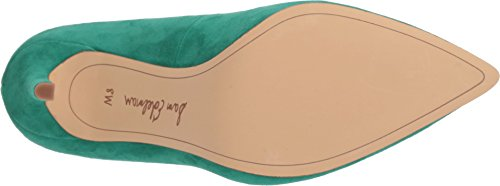 Golden Leather Caramel M Women's Edelman Jade Pumps US 10 Green Kid Women Hazel Suede Sam If1FxwI
