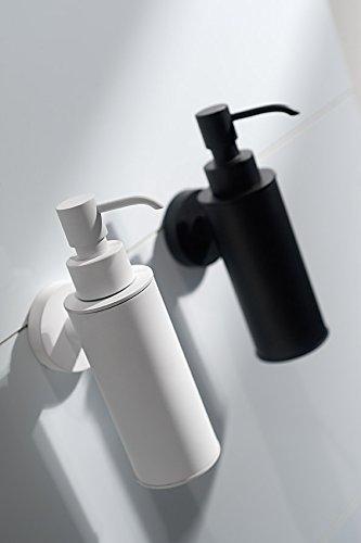 Haceka 1142253 Bianco colore Dispenser per sapone Kosmos in acciaio e metallo