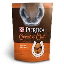Purina Carrot & OAT Flavored Horse Treats 3lb