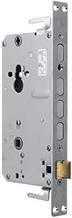電子ドアロック スマートドアロックインテリジェント電子指紋照合Bluetoothのセキュリティロック 電子錠 (Color : Black, Size : One size)