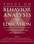Focus on Behavior Analysis in Education (05) by Heward, William L - Heron, Timothy E - Neef, Nancy A - Peter [Paperback (2004)] ebook