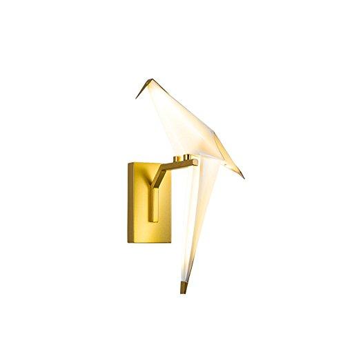 Unbekannt Wandleuchten Qianzhi Kran Wandleuchte, Moderne minimalistische Schlafzimmer Nachttischlampe Wohnzimmer Gang Kinderzimmer Lichter (Design : Single Right)