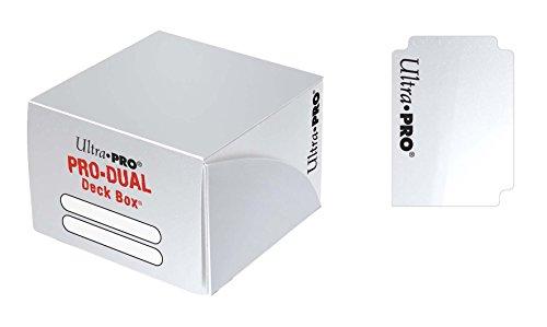 Ultra PRO Dual Deck Box, White, Standard