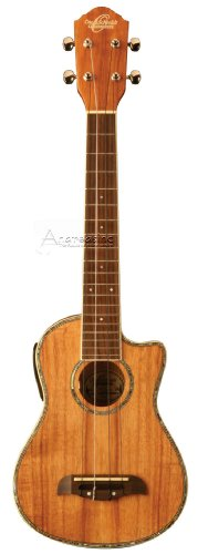 Oscar Schmidt by Washburn OU5LCE Long Neck Concert Acoustic-Electric Ukulele by Oscar Schmidt