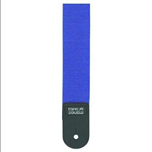 Polypropylene Guitar Strap, Blue Multi-Colored Florida Sunshine Store (Florida Guitar Strap)