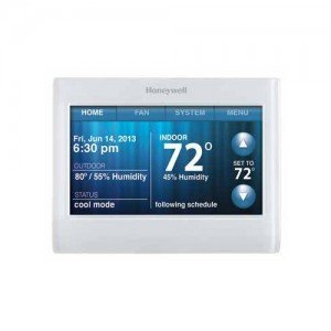Honeywell TH9320WF5003 Wi-Fi 9000 Color Touchscreen Thermostat by Honeywell