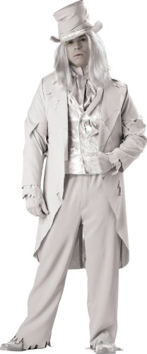 InCharacter Costumes Men's Ghostly Gent Plus Sized Costume