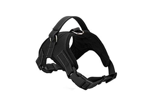 Alkem Black Service Dog Harness Vest Service Dog Harness Vest Cool Comfort Oxford Cloth for Dogs Small Medium Large