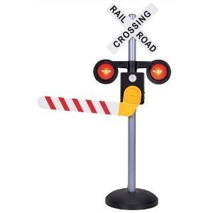 Pavlov'z Toyz Talking Railroad Crossing Sign