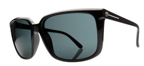 Electric Visual Women's Venice Butterfly Sunglasses,Gloss Black Frame/Grey Lens,One - Eyewear Venice