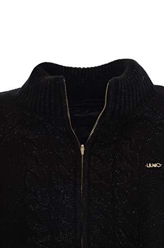 Noir Jo Manteau Jeans Imperméable Longues Femme Manches Small Liu Owqxd1q