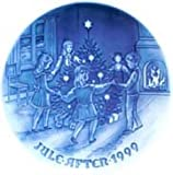 1999 Bing and Grondahl Christmas Plate ''Dancing on Christmas Eve''