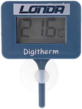 zijianZZJ termómetro Digital para Acuario, Pantalla LCD 2019: Amazon.es: Jardín