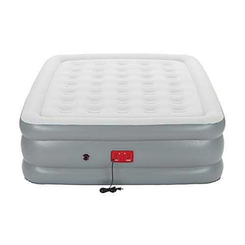 Coleman Air Mattress with Built-in Pump | SupportRest Elite Double-High Inflatable Air Bed, Queen (Coleman Twin Double High Air Mattress With Pump)