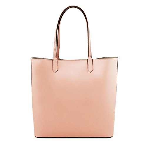 Tuscany Leather Dafne - Borsa shopper in pelle - TL141702 (Nude) beige