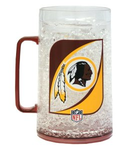 NFL Washington Redskins 38oz Crystal Freezer Monster Mug