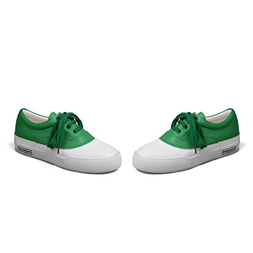 Womens Backpacking Shoes Comfort Leather Assorted 1TO9 Colors Walking Green MMS06185 4AqdwnI