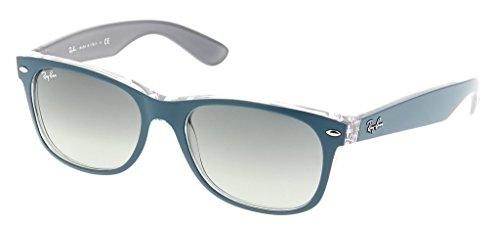 ban Ray On Rb2132 Matte Sunglasses New gray Petroleum Gradient Wayfarer Gray Unisex Top SRqdqwa